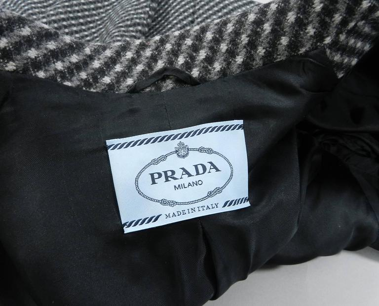 Prada Fall 2014 Grey Wool Jacket  5