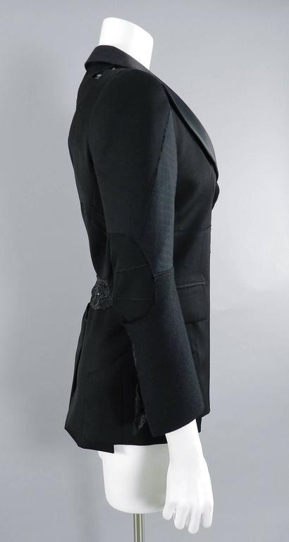 Junya Watanabe Comme Des Garcons Fall 2014 Patchwork Jacket 3