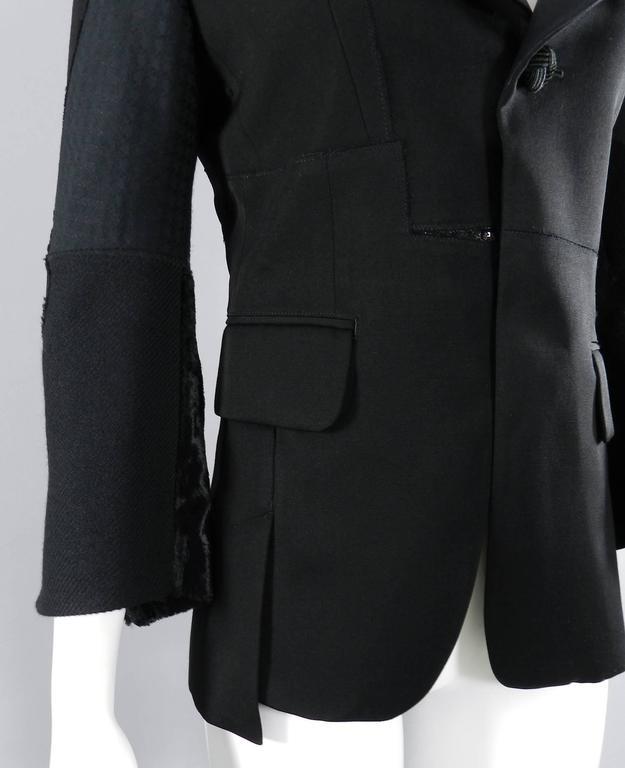 Junya Watanabe Comme Des Garcons Fall 2014 Patchwork Jacket 5