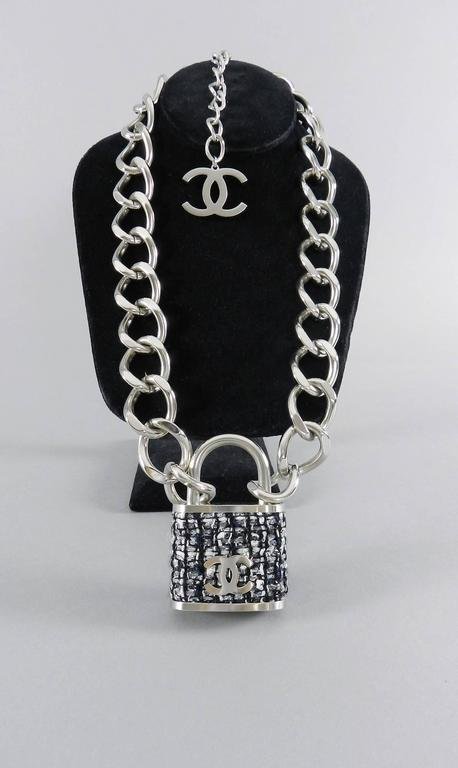necklace products padlock summer second spring the fifth hand chanel