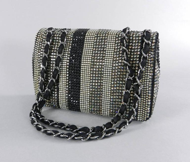 Chanel Limited Edition Strass bag - Classic Flap Mini  2