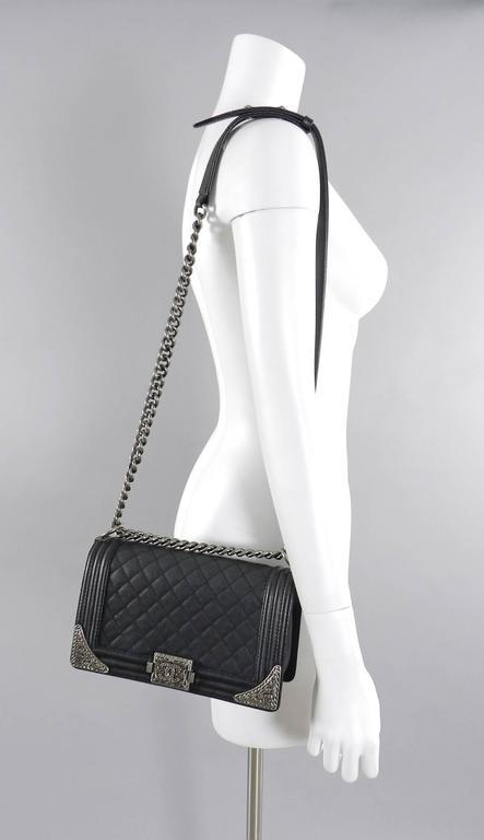 Chanel 2014 14a Pe Fall Paris Dallas Boy Bag Medium At