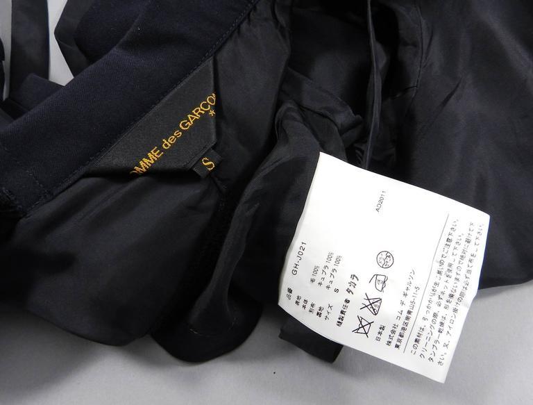 Comme des Garcons fall 2011 Runway Half Jacket  8