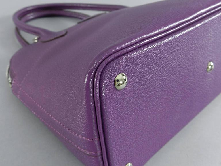 Hermes Violet Bolide 27 cm Bag - handbag with strap 4