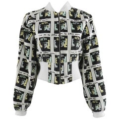 Andy Warhol Vintage BOY London Bomber Jacket 1980s