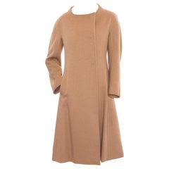 Max Mara Atelier Camel Wool Coat - 2
