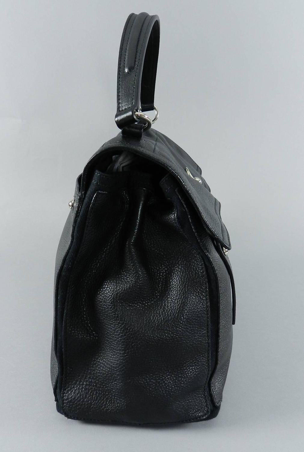 YSL Yves Saint Laurent Muse Two 2 Black Bag / Purse at 1stdibs
