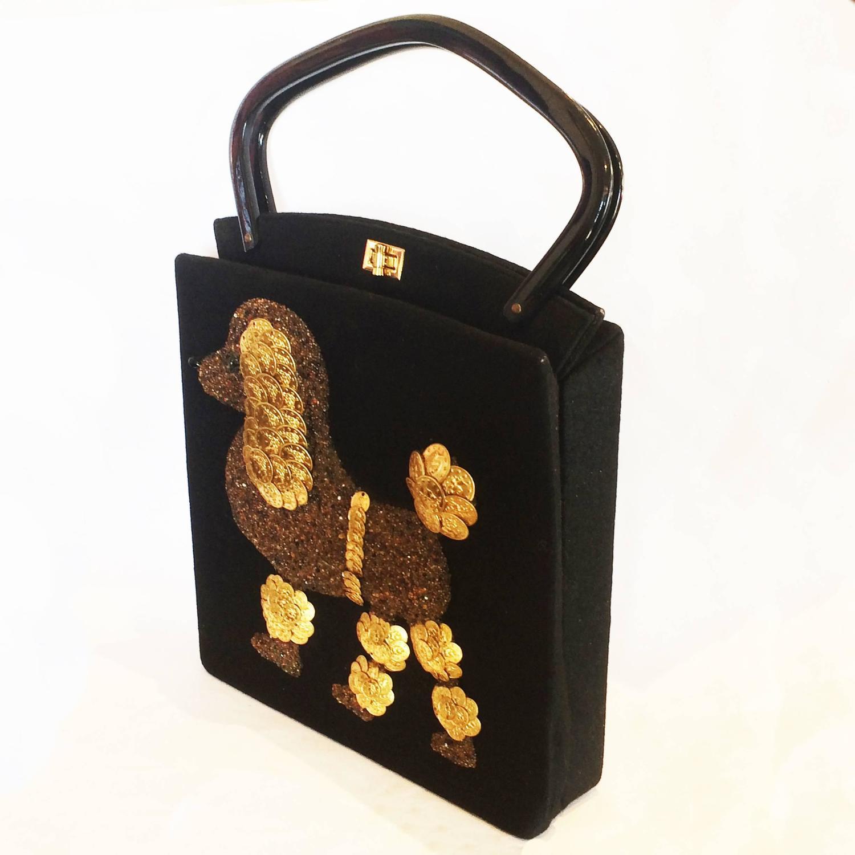 1stdibs Rare Large Jolles Of Paris 1950s Poodle Bag Gc9zQJl7