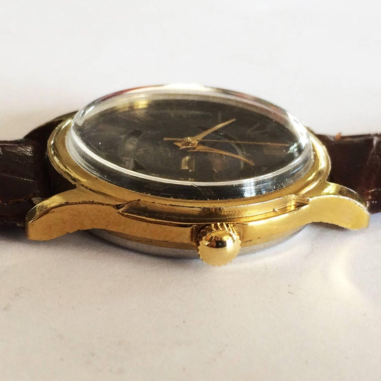 Early 1970s Russian Luch Sun and Moon watch 2