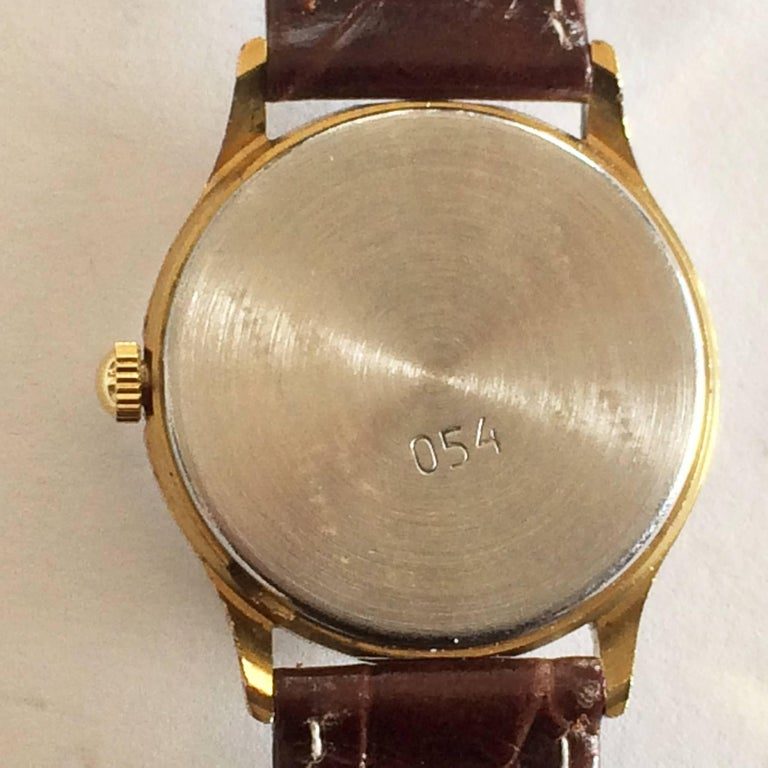 Early 1970s Russian Luch Sun and Moon watch 4