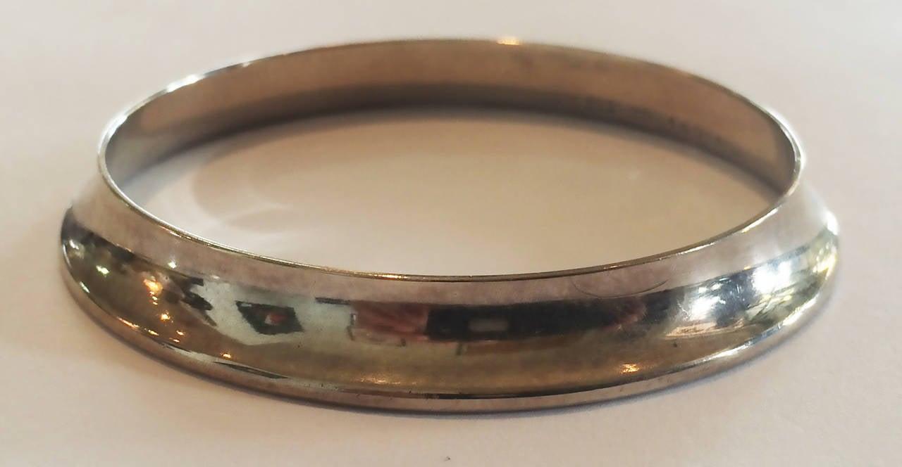 Georg Jensen bangle bracelet designed by Nanna Ditzel Modernist 4