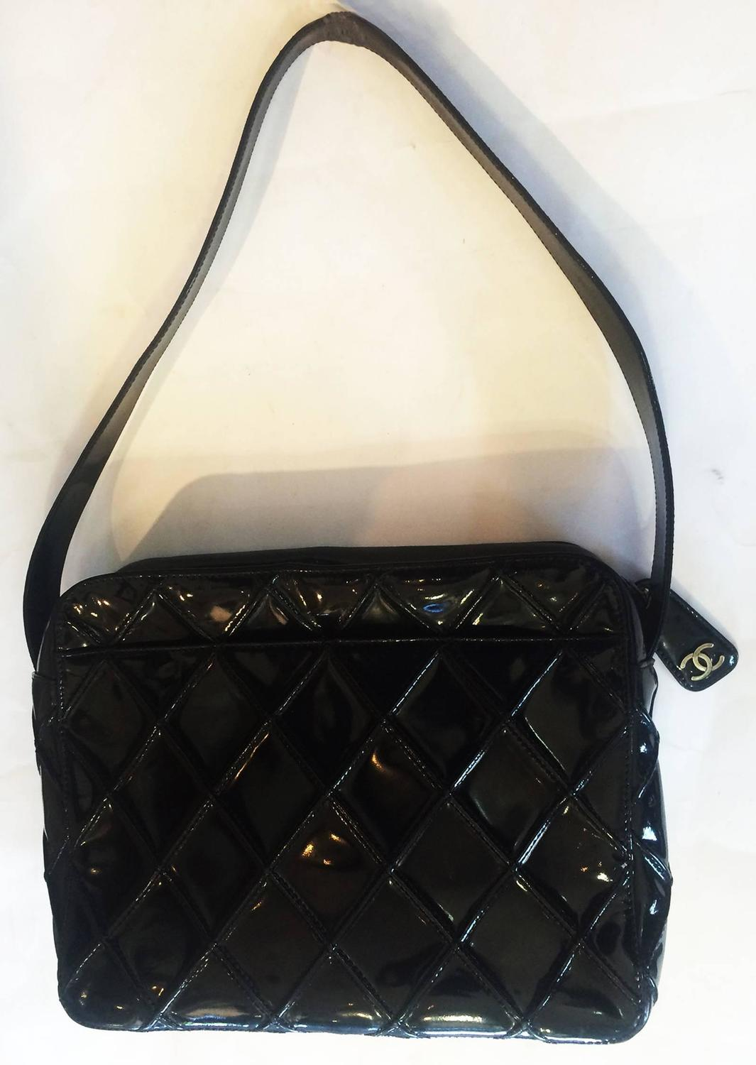 how to clean patent leather chanel purse