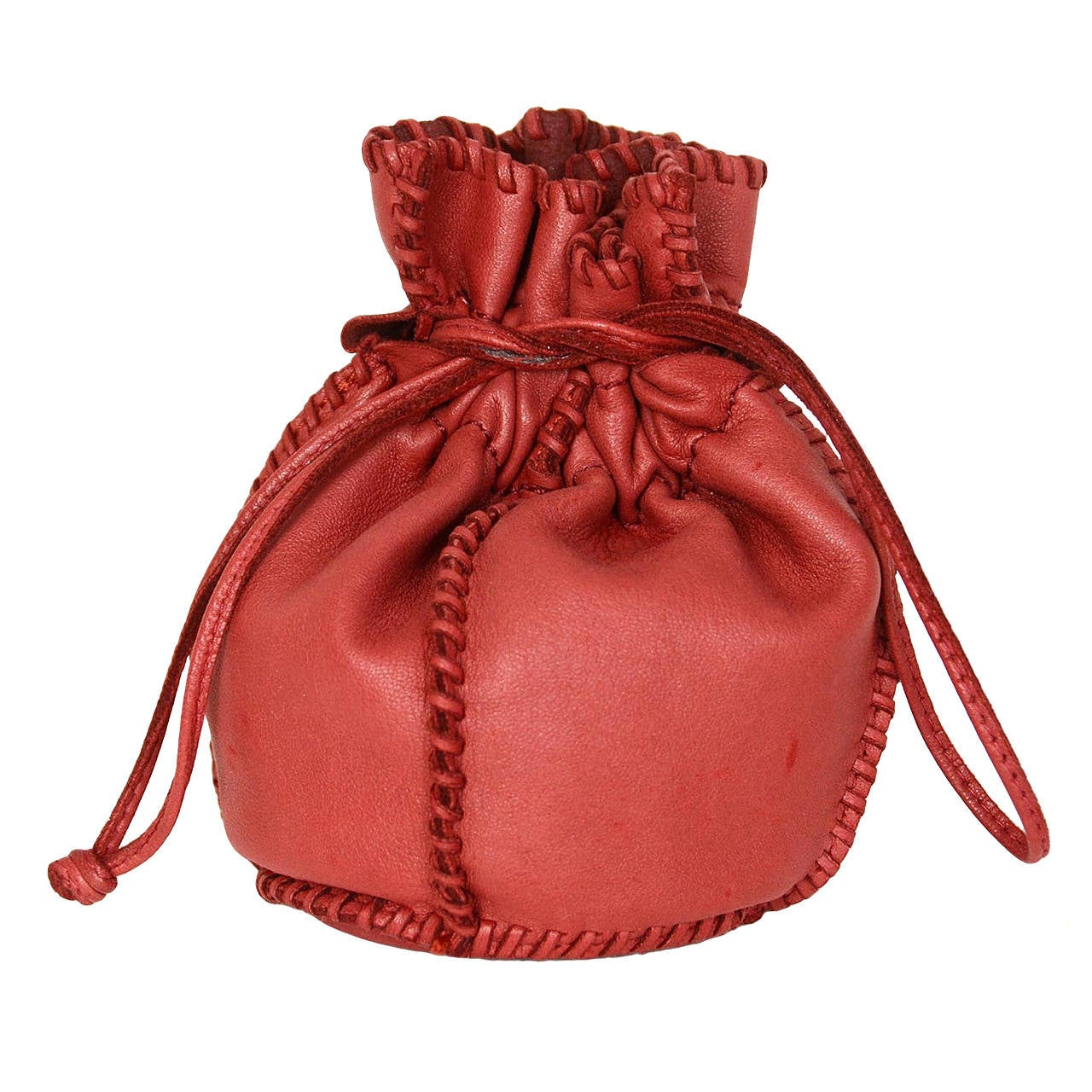 hermes drawstring pouch