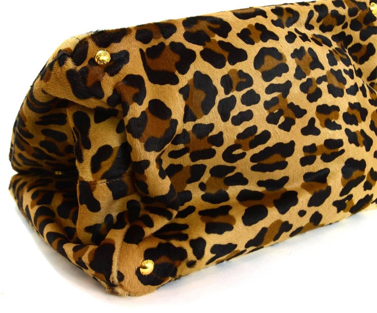 prada leopard print tote