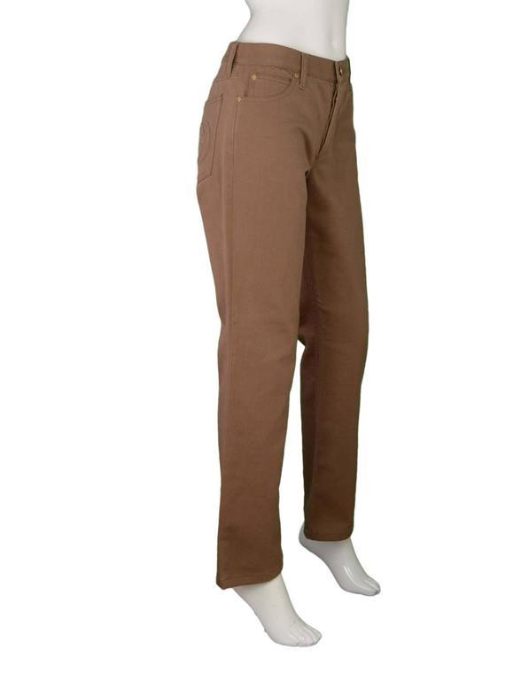 Gucci Khaki Bootcut Jeans sz 44 2