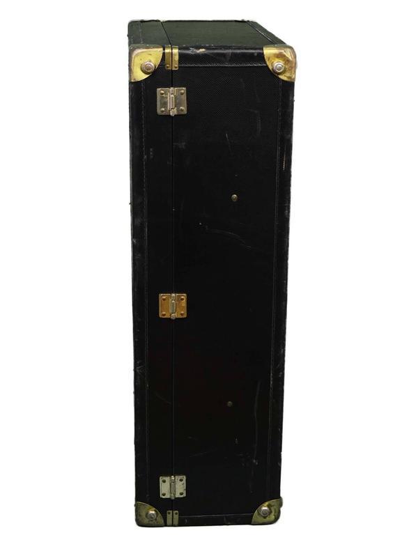 Bottega Veneta Black Vintage Coated Canvas Hard Suitcase BHW 4