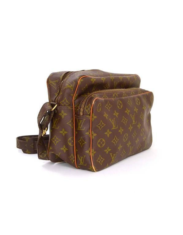 Louis Vuitton Vintage Monogram Large Camera Bag Ghw For