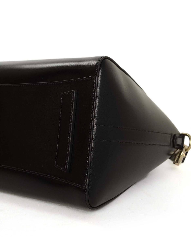 birkins bag price - Givenchy Black Glazed Leather Medium Antigona Bag SHW For Sale at ...
