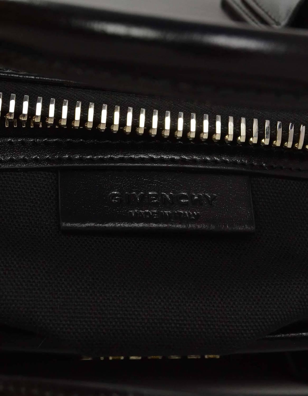 how much does a hermes birkin bag cost - Givenchy Black Glazed Leather Medium Antigona Bag SHW For Sale at ...