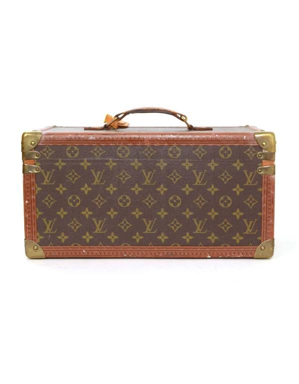 afe1b8289bda Louis Vuitton Vintage Monogram Beauty Travel Case BHW For Sale at ...