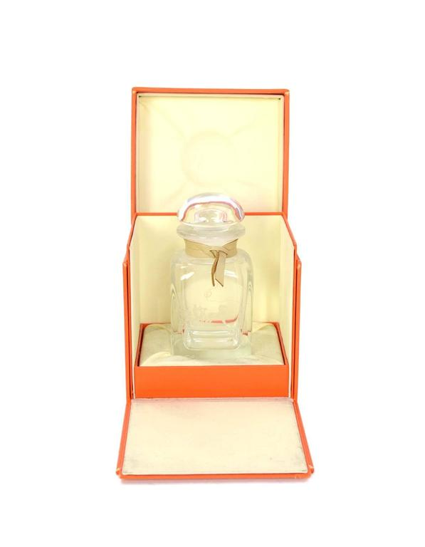 Hermes Ltd Ed. Glass Eau D'Hermes 1996 Perfume Bottle In Excellent Condition For Sale In New York, NY