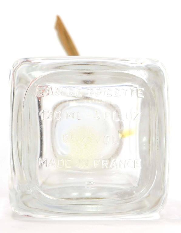 White Hermes Ltd Ed. Glass Eau D'Hermes 1996 Perfume Bottle For Sale