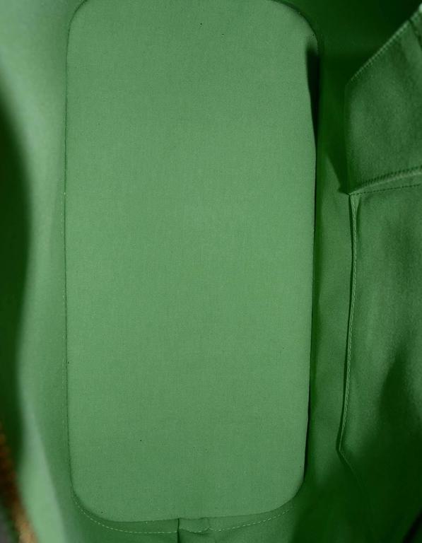 Louis Vuitton Green Monogram Vernis Rare Stephen Sprouse Roses Alma GM 6