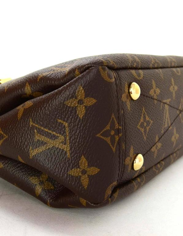 737b59ac0 Louis Vuitton Monogram Canvas & Black Leather Pallas BB Crossbody Bag GHW  In Excellent Condition For