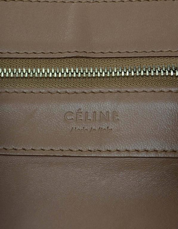 Celine Black & Tan Leather Bi-Cabas Tote rt. $1,290 7