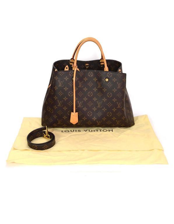 Louis Vuitton Monogram Montaigne GM Bag w/ Shoulder Strap rt. $2,570 9