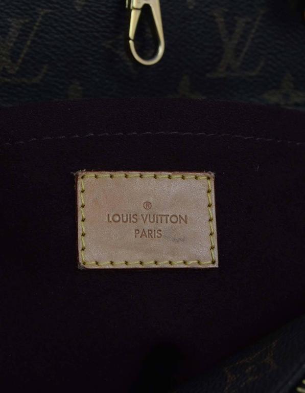 Louis Vuitton Monogram Montaigne GM Bag w/ Shoulder Strap rt. $2,570 7