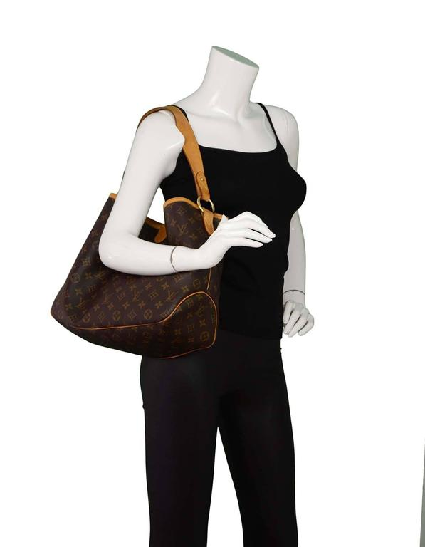 3435ea4d76f Louis Vuitton Brown Monogram Delightful PM Hobo with GHW