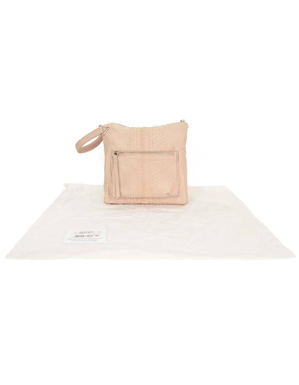 Maison Martin Margiela Pink Python Elaphe Wristlet Clutch Bag rt. $2,365 10