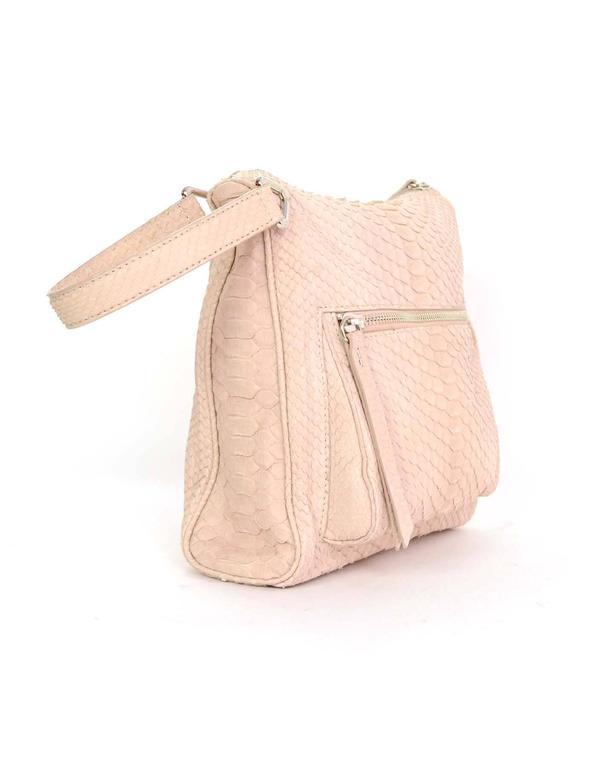 Maison Martin Margiela Pink Python Elaphe Wristlet Clutch Bag rt. $2,365 3