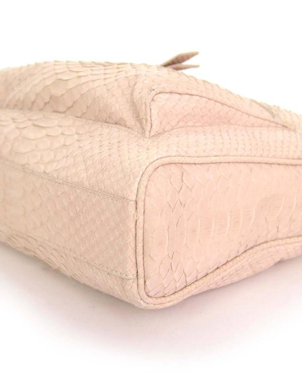 Maison Martin Margiela Pink Python Elaphe Wristlet Clutch Bag rt. $2,365 5