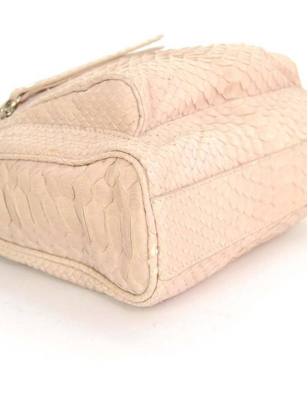 Maison Martin Margiela Pink Python Elaphe Wristlet Clutch Bag rt. $2,365 6