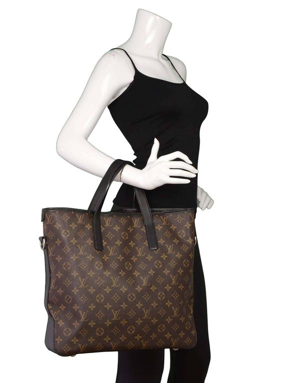 ae47c14be562 Louis vuitton monogram macassar davis tote with features optional shoulder  strap made in france JPG 597x768