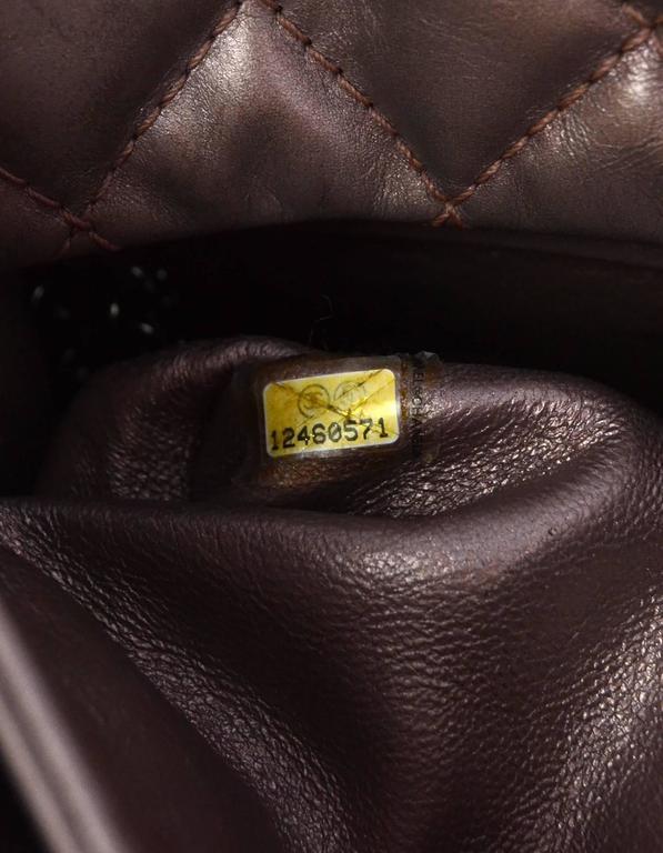 Chanel Muave Metallic Reissue 2.55 225 Medium Double Flap Classic Bag 9