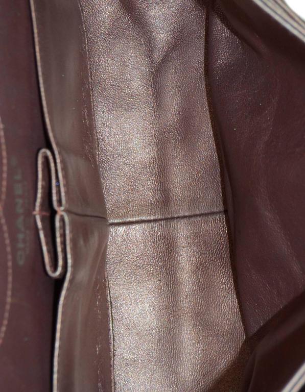 Chanel Muave Metallic Reissue 2.55 225 Medium Double Flap Classic Bag 7