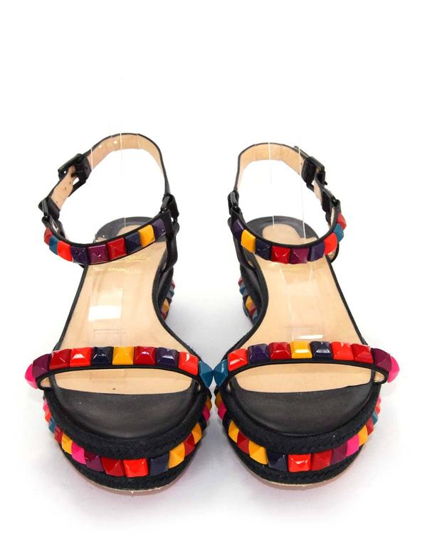 3269719dc42 Christian Louboutin Cataclou 60mm Studded Sandals Sz 40 For Sale at ...