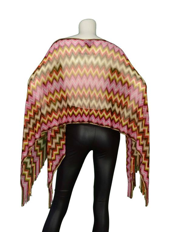 Missoni Multi-Color Knit Shawl 3