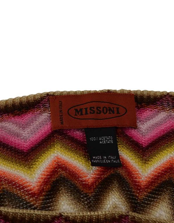 Missoni Multi-Color Knit Shawl 4