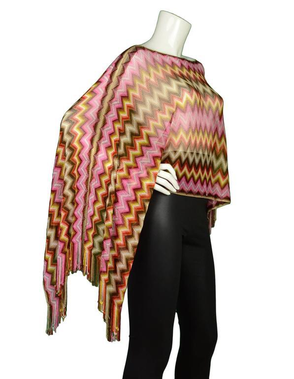 Missoni Multi-Color Knit Shawl 2