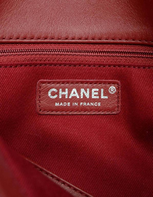 Chanel 2014 Red Patent Leather Quilted Tote Bag rt. $3,900 8