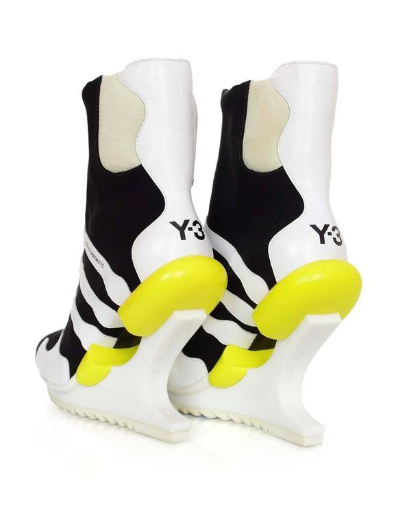 Adidas Y-3 by Yohji Yamamoto Oriah Sneaker Booties Sz 6 5