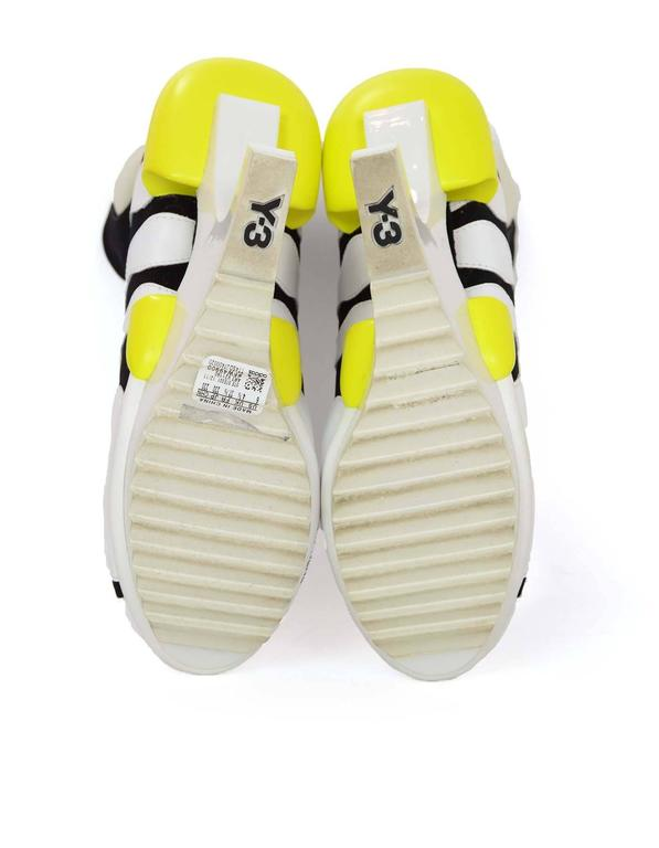 Adidas Y-3 by Yohji Yamamoto Oriah Sneaker Booties Sz 6 For Sale 2