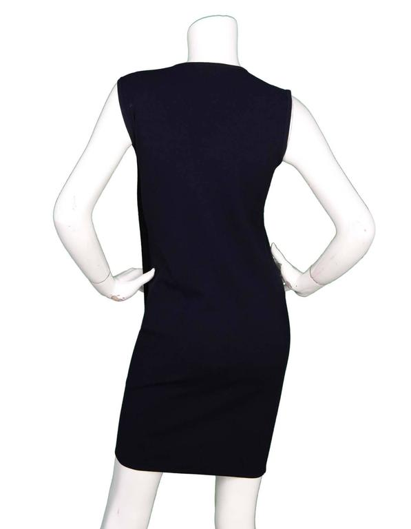 J W Anderson Navy And Black Panel Dress Sz Xs For Sale At 1stdibs