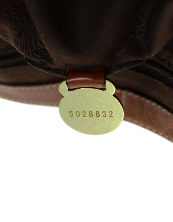 Mulberry Tan Leather Medium Alexa Satchel Bag  For Sale 2