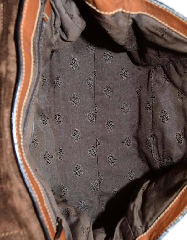 Mulberry Tan Leather Medium Alexa Satchel Bag  For Sale 1