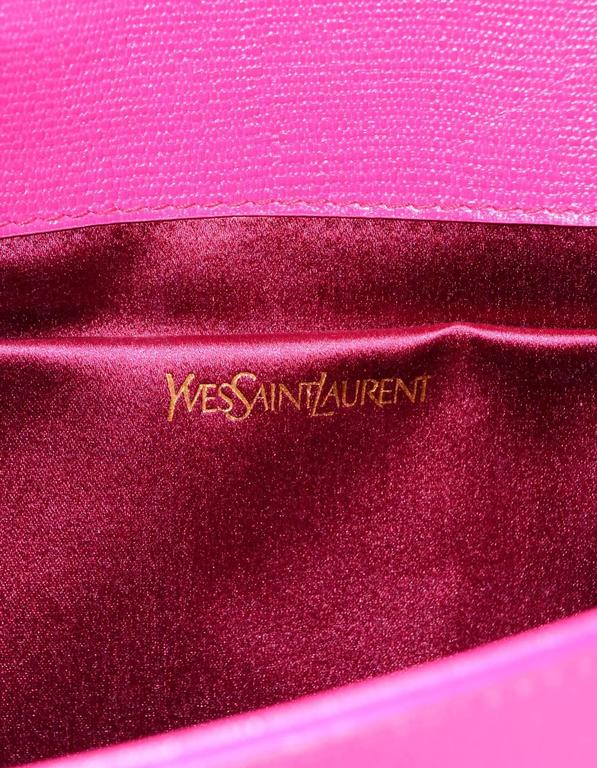 14a2f921df2 Yves Saint Laurent Pink Classic Cabas ChYc Clutch Bag For Sale at ...
